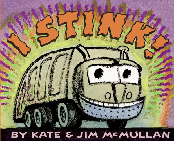 Stockist of Kate & Jim McMullan's children's book; I Stink.