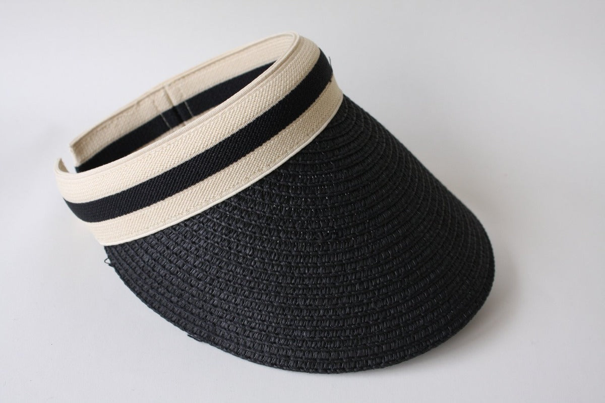 US stockist of Elle Porte's Riviera visor in black