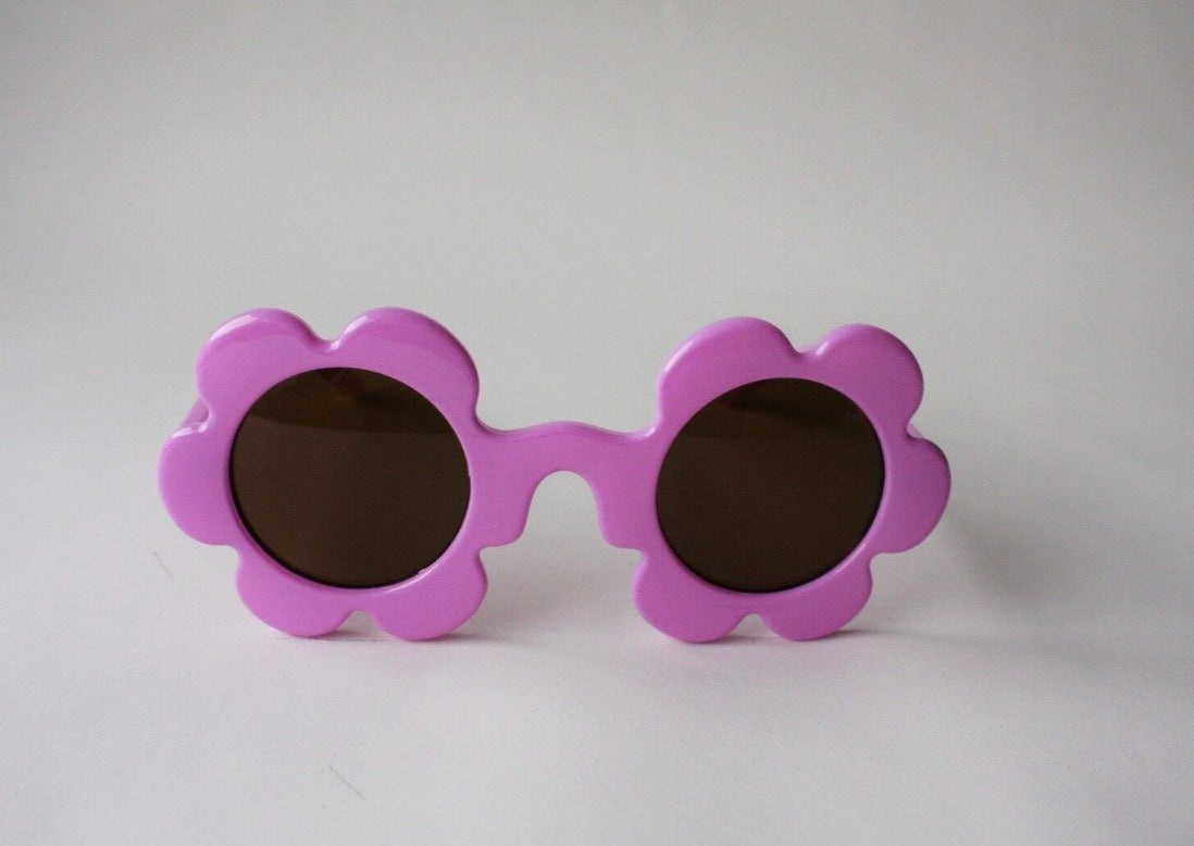 US stockist of Elle Porte's Daisy sunglasses in Bubblegum with dark lenses.