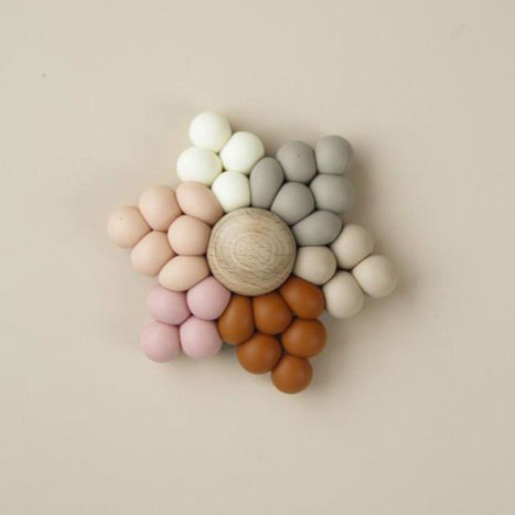 US stockist of Little Chew silicone + wood star Lilija teether