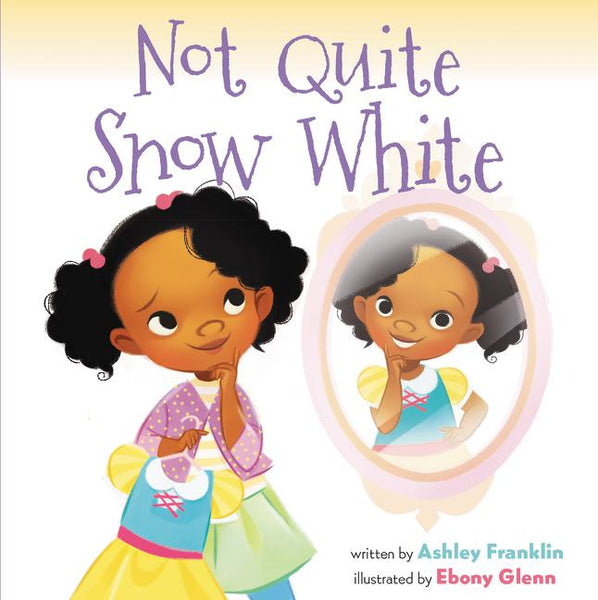 Stockist of Ashley Franklin's children's book; Not Quite Snow White