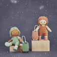 US stockist of Olli Ella hand woven rose rattan doll luggy