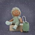 US stockist of Olli Ella's gender neutral, Cricket dream dinkum doll.