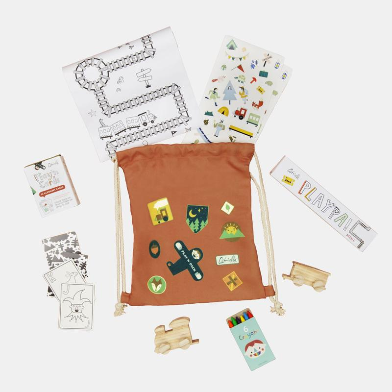 US stockist of Olli Ella Play 'N Pack Forest Travel Set