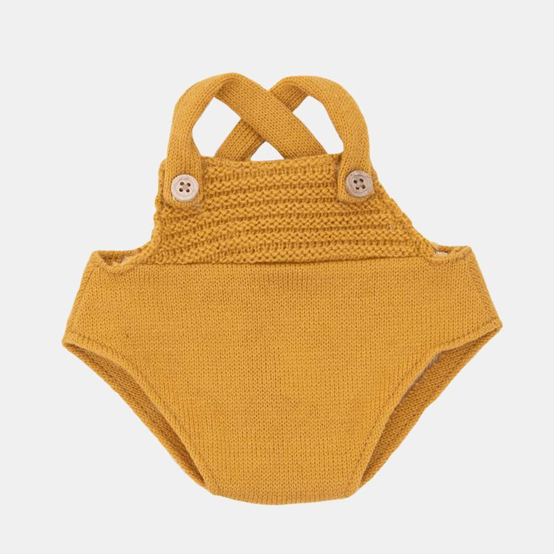 US stockist of Olli Ella Dinkum Doll mustard romper