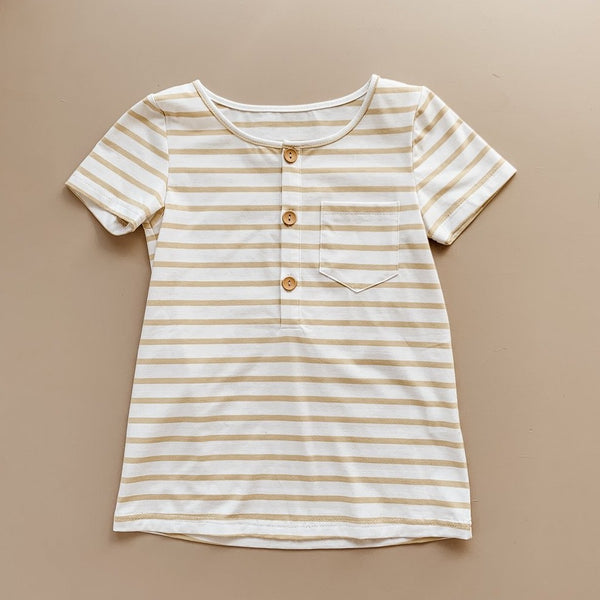 US stockist of Two Darlings Golden Stripe T-Shirt