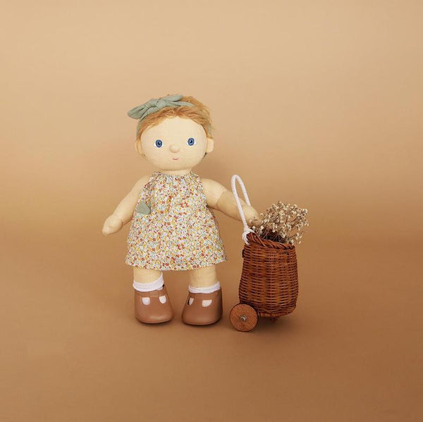 US stockist of Olli Ella's Una Dress Set.  Contains floral dress with pocket, matching head tie and matching handkerchief.