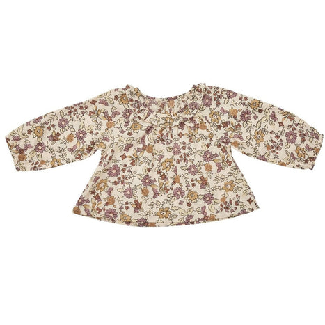 US stockist of Ruffets & Co floral Pippa smock top