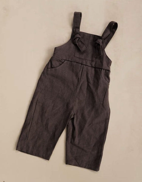 US stockist of Luca the Label pioneer chocolate linen overalls