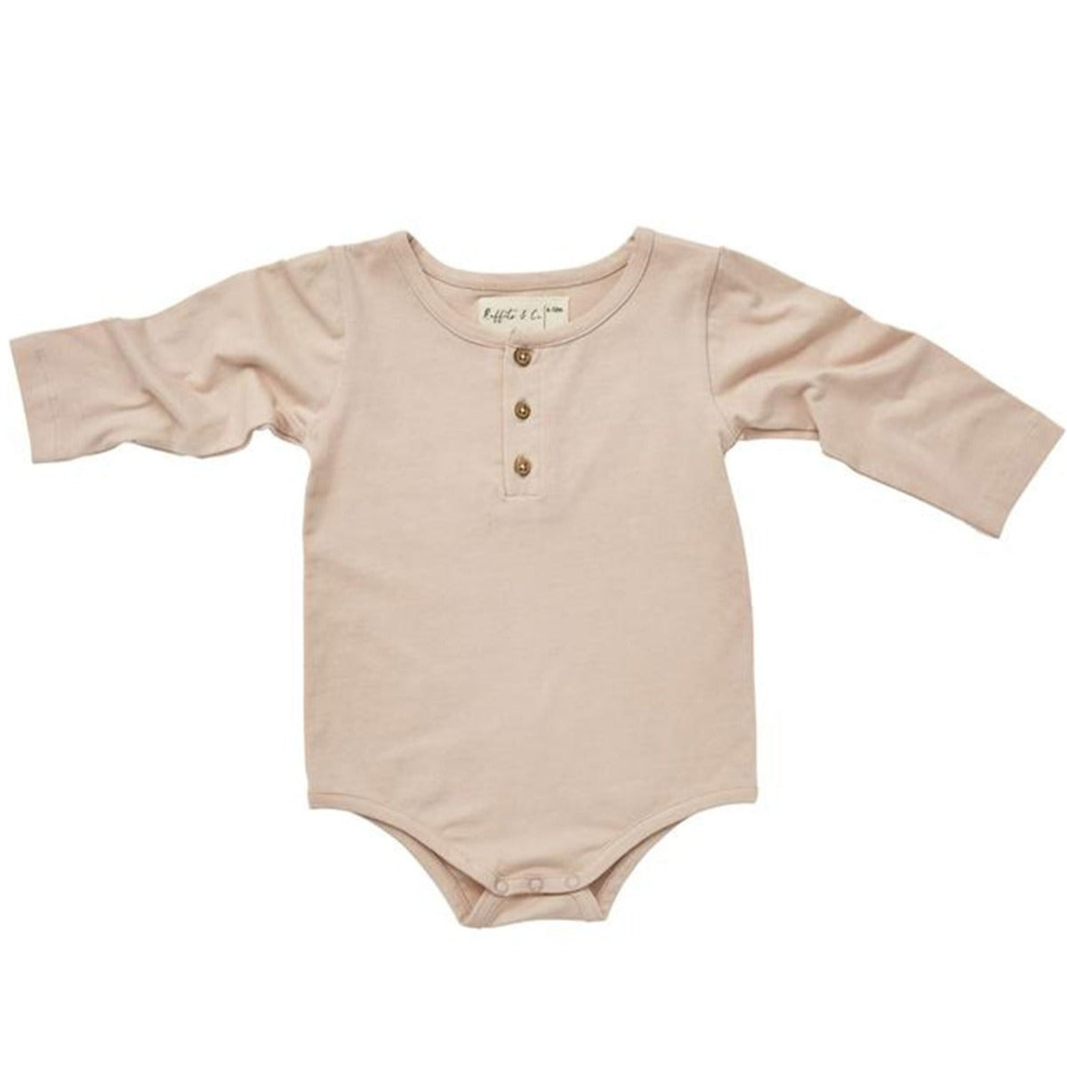 US Stockist of Ruffets & Co Blush Pink Bodysuit/Onesie