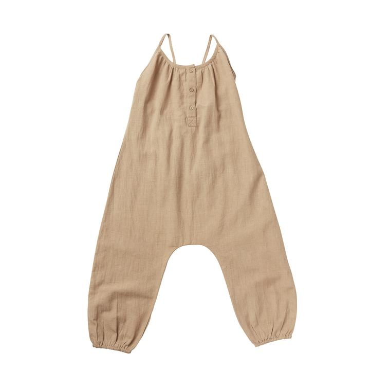 Eden Overalls - Warm Taupe