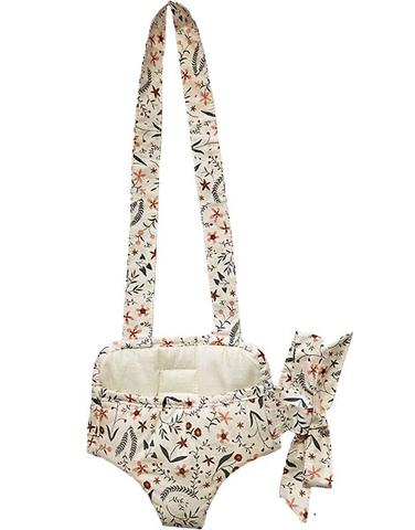 "US stockist of Minikane's Nina floral print doll carrier.  Made from an exclusive Minikane fabric in soft cotton.  Fits 13"" dolls and is made in France."