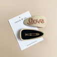 US stockist of Grech & Co's Cream single Love Snap Hair Clip