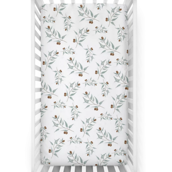 "US stockist of Piper Bug ""Ray"" cotton jersey crib sheet."