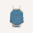 US stockist of Lacey Lane's Blue Gertie Terry Towelling Tank Bodysuit