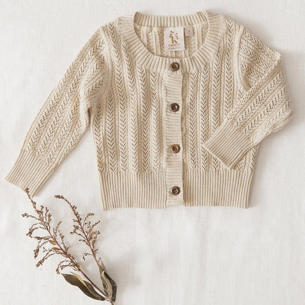 Penny Knit Cardigan - Natural