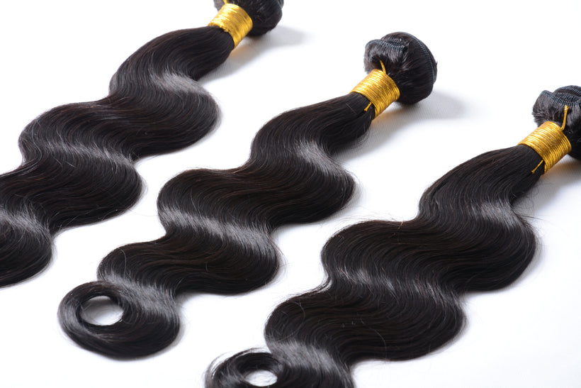 Body-Wave Human Hair Bundles