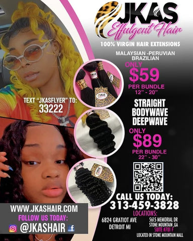 """Hair extensions at very reasonable prices 12""""-30"""" all hair in stock. 2 locations to choose from. Brazilian, Malaysian, Peruvian"""