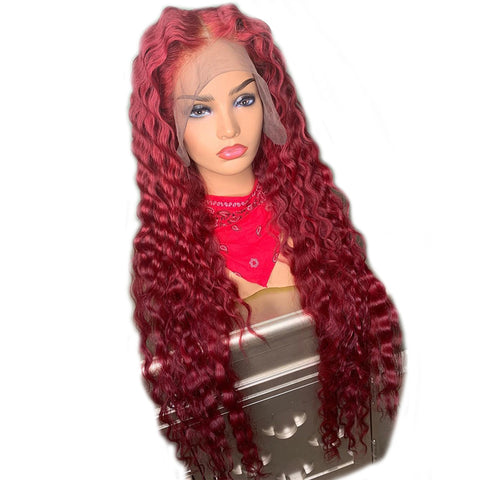 "180% Density Custom Color Lace Frontal Wigs 12""-28"""