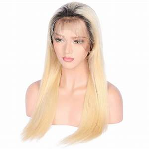 "180% Density 1B (Natural Color)/613 (Platinum Blonde) Lace Frontal Wigs 12""-28"""