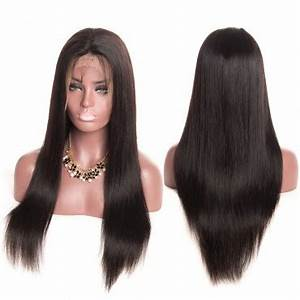 "180% Density Lace Frontal Wigs 12""-28"" Natural Color Only - JKAs Effulgent Hair LLC"