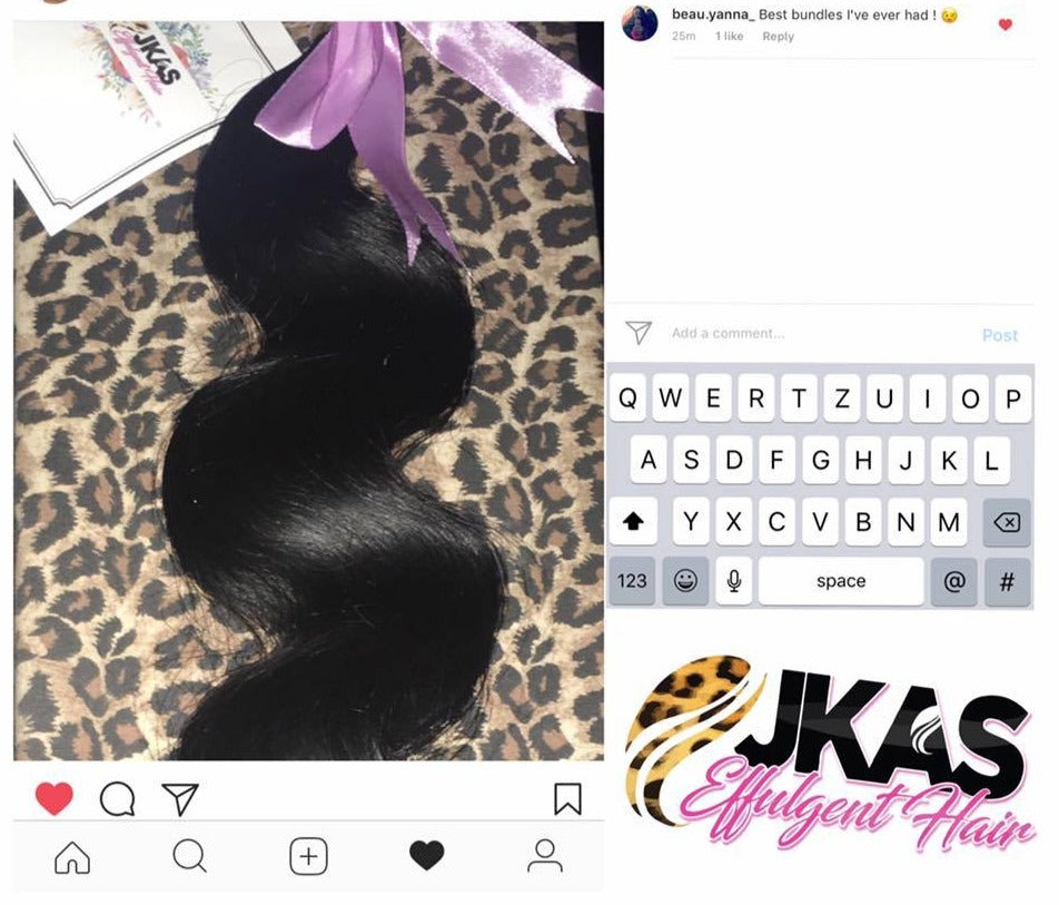 3 BUNDLES AND LACE CLOSURE SPECIALS | STRAIGHT| BODYWAVE|