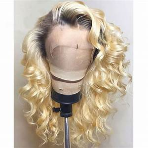 "180% Density 1B (Natural Color)/ 613 (Platinum Blonde) Lace Frontal Wigs 12""-28"""