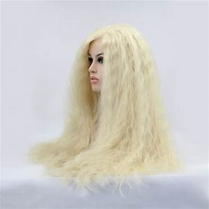 "180% Density 613 (Platinum Blonde) Lace Frontal Wigs 12""-28"""