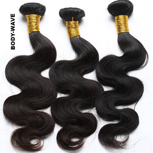 Straight| Body-Wave| 100% UNPROCESSED HUMAN VIRGIN HAIR (3)BUNDLE DEALS