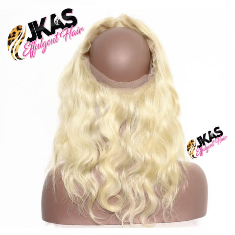 613 BLONDE 360 Lace Frontal | Straight | Body-Wave|