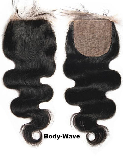 JKAs Effulgent Hair Human Hair Bodywave 4x4 Lace Closures