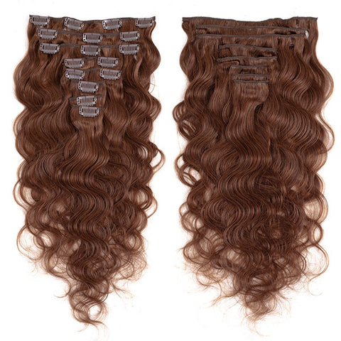 Body Wave|  9A Custom Color| 120g clip ins