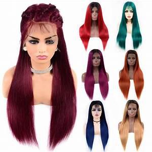 "150% Density Custom Color Lace Frontal Wigs 12""-28"""