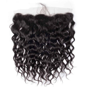 "Water Wave HD 13x4 Lace Frontal 16""-22"" - JKAs Effulgent Hair"