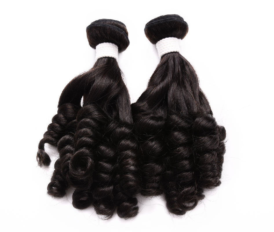 (3)BUNDLE DEALS |Funmi Curl| 100% UNPROCESSED HUMAN VIRGIN HAIR