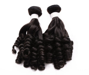 (3)BUNDLE DEALS |Funmi Curl| 100% UNPROCESSED HUMAN VIRGIN HAIR - JKAs Effulgent Hair LLC