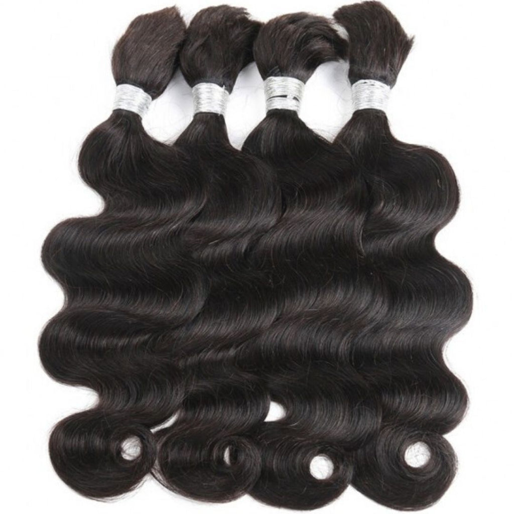 (2)BUNDLE DEALS |Body-Wave | 100% UNPROCESSED HUMAN VIRGIN BRAIDING HAIR