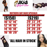 Mother's Day 3 Bundle Specials - JKAs Effulgent Hair