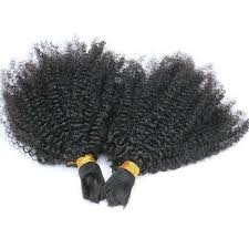 (2)BUNDLE DEALS |Kinky Curly| 100% UNPROCESSED HUMAN VIRGIN BRAIDING HAIR