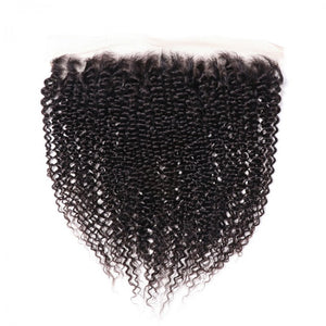 "Kinky Curly| 13x4 HD Lace Frontal 16""-22"" - JKAs Effulgent Hair"