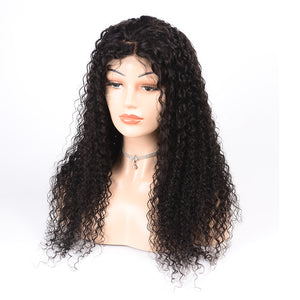 "130% Density Lace Frontal Wigs 12""-28"" Natural Color Only - JKAs Effulgent Hair LLC"