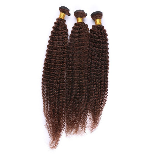 (3)BUNDLE DEALS |Kinky Curly| 100% UNPROCESSED HUMAN VIRGIN HAIR