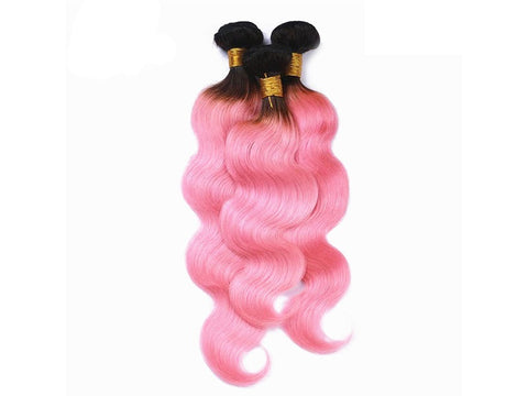 PINK BUNDLES| Straight| Body-Wave| 100% UNPROCESSED HUMAN VIRGIN HAIR