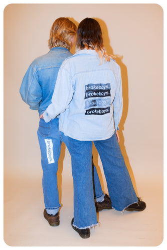 brokeboys. denim shirt