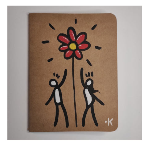 "Exitenter notebooks ""flowers"""