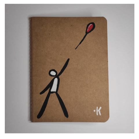 "Exitenter notebooks ""Lost man"""