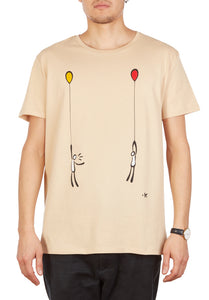 T-shirt together (limited edition) uomo/donna By exitenter
