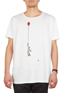 T-shirt fly away (limited edition) uomo/donna By exitenter
