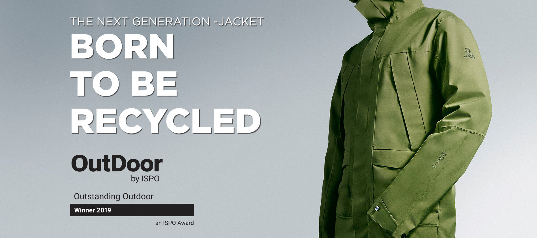 0a60b3cc83bc0 Born to be recycled – Outdoor by ISPO award winner product