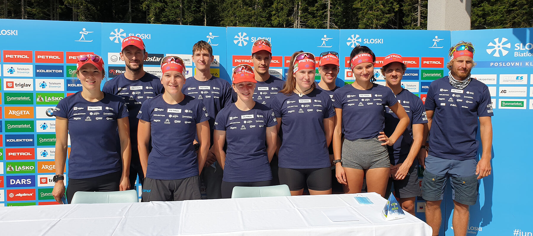 Halti is the official supplier of Slovenian Biathlon Team